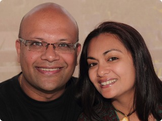 Picture of Avinash Meetoo and Christina Meetoo